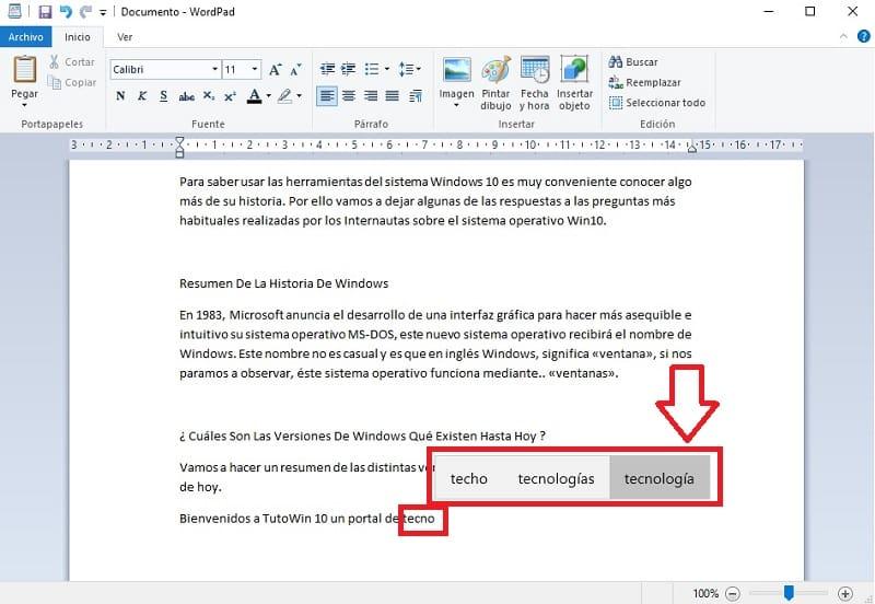 activar teclado predictivo swiftkey en windows 10.