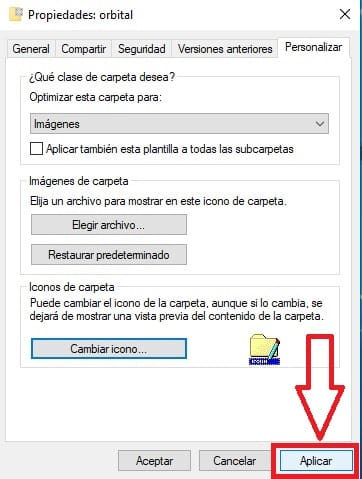 como usar iconos de windows 95 en windows 10.