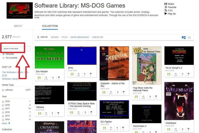 juegos antiguos de pc ms-dos