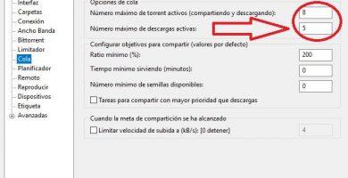 aumentar número máximo de descargas activas en utorrent