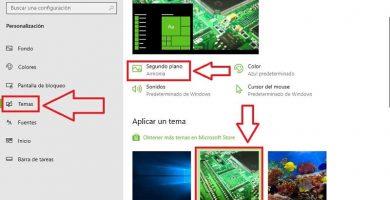 cambiar automáticamente fondo de pantalla windows 10.
