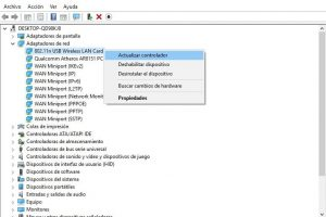 drivers de red windows 10