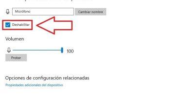 desactivar microfono windows 10