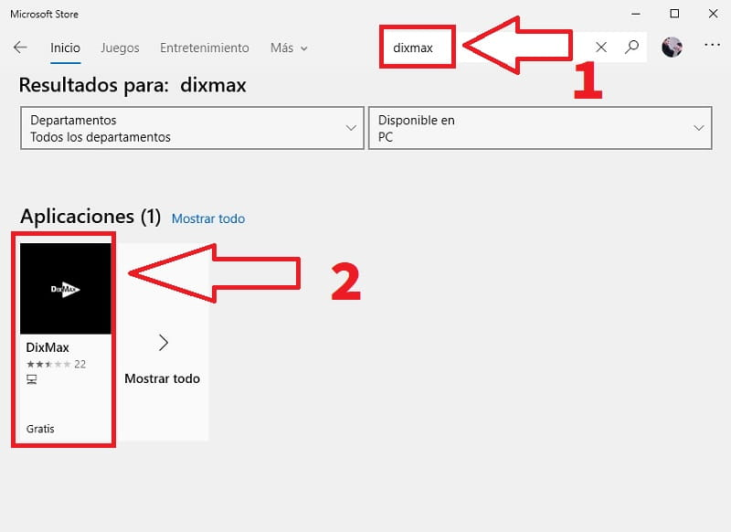 descargar dixmax windows 10