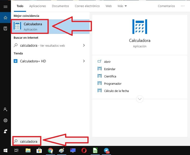 descargar calculadora windows 10