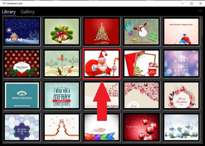 crear tarjetas de navidad gratis