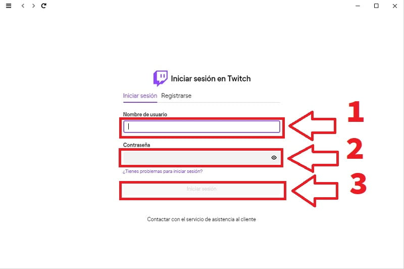 descargar twitch app para pc
