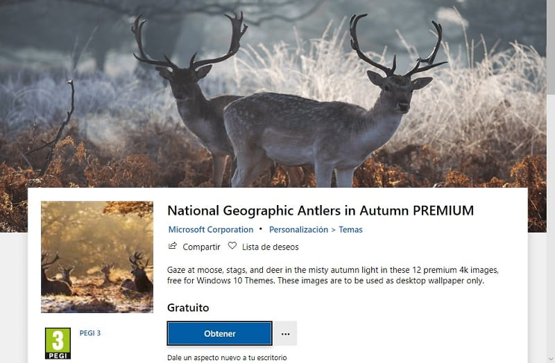 National Geographic Antlers in Autumn