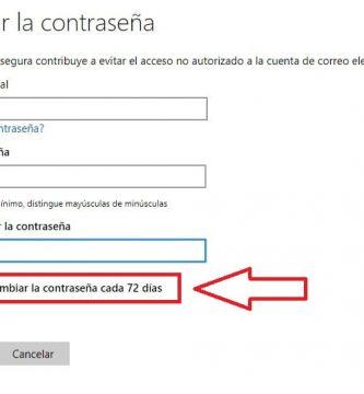 programar cambio de contraseña windows 10