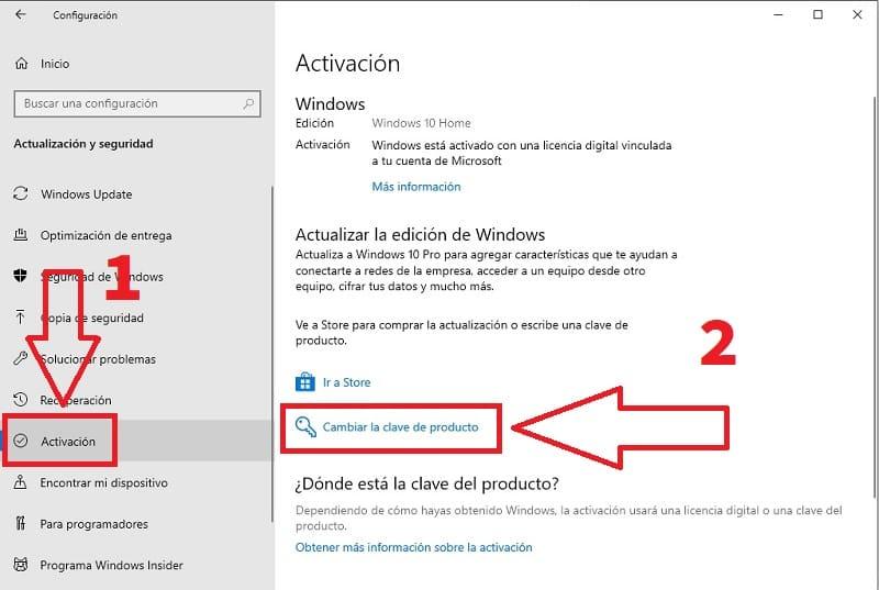 clave windows 10 pro gratis