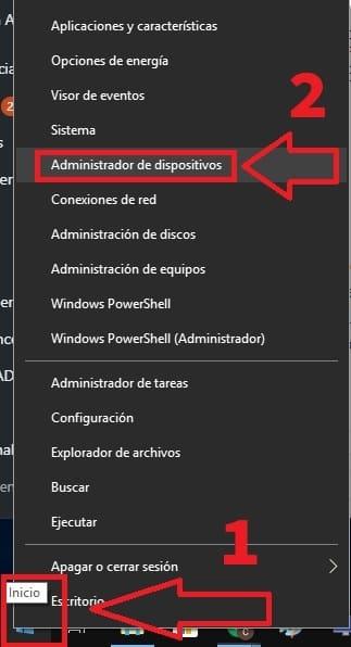 actualizaciones de controladores para windows 10
