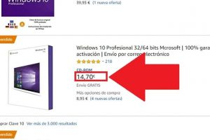 compra de windows 10