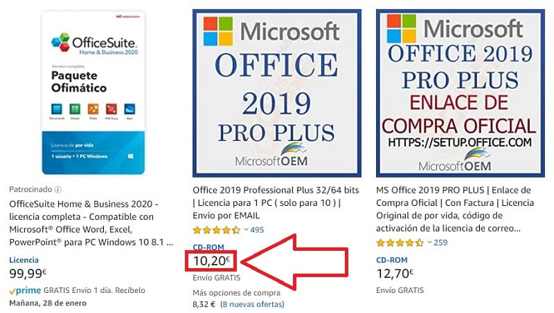 comprar licencia office 2010 professional plus
