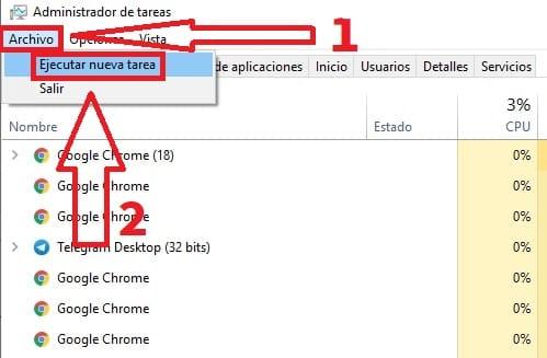 explorador de archivos windows 10 se cierra