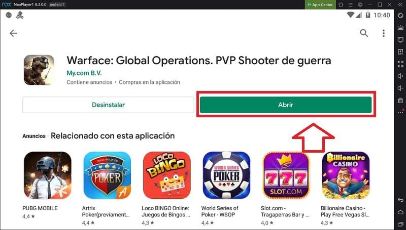 se puede jugar warface global operations