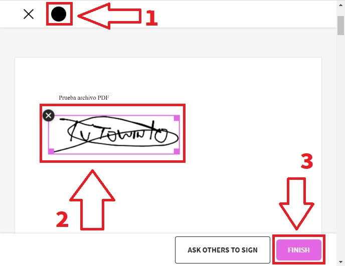 firmar digitalmente un documento