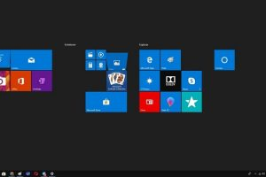 menu inicio pantalla completa windows 10