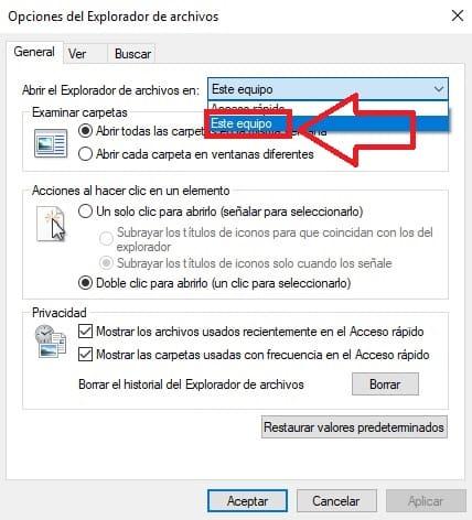 mi explorador de archivos no funciona windows 10