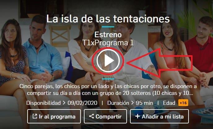 🧡 Ver La Isla De Las Tentaciones 2 Online Con Mitele 2021