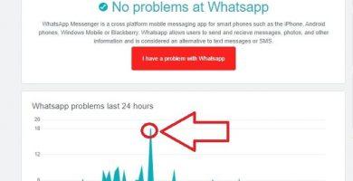 whatsapp se ha caído hoy.