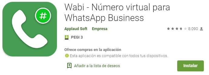 numero virtual pc