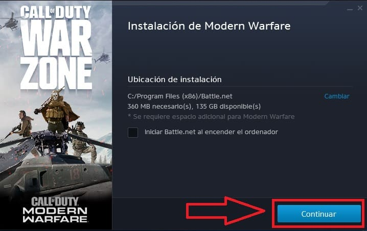 call of duty warzone descargar pc
