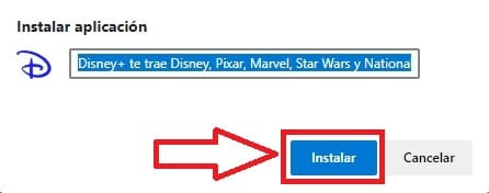 descargar disney plus en win 10.