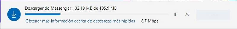 descargar facebook messenger para pc windows 10 gratis en español