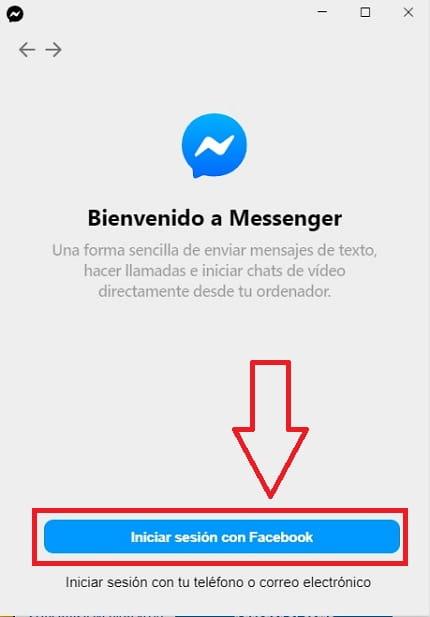 descargar facebook messenger para windows 10