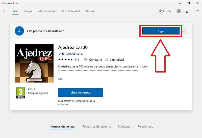 como instalar ajedrez en windows 10