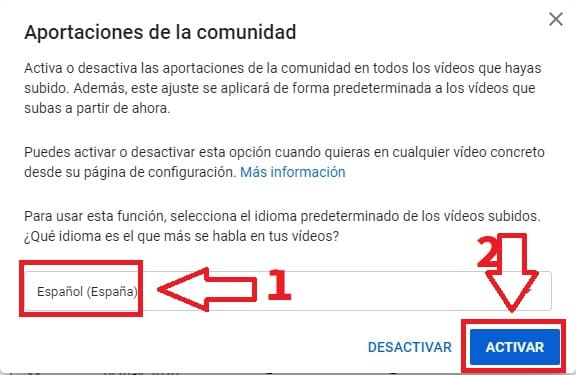 añadir subtitulos a un video de youtube