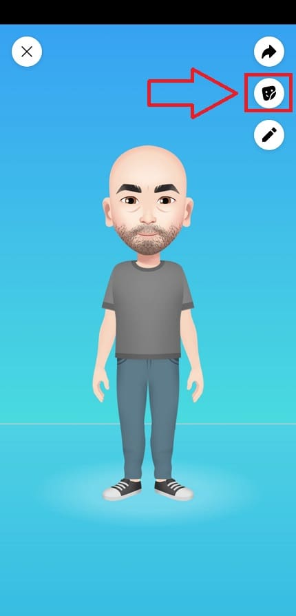 como poner mi avatar de facebook en mi story.