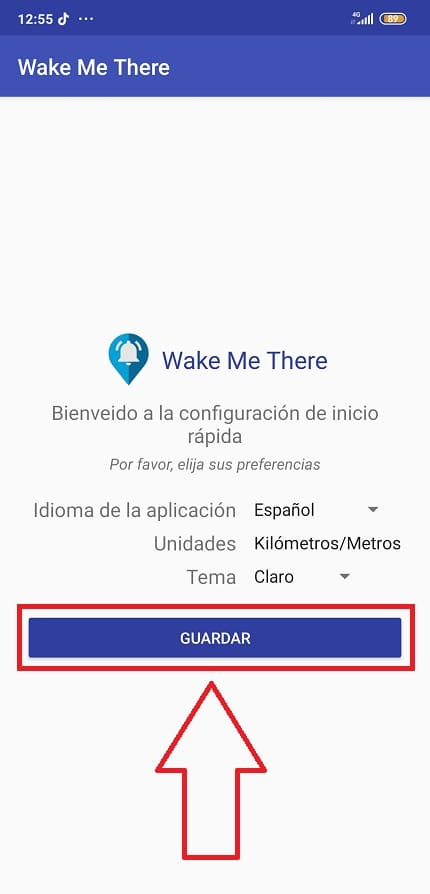 wake me there app.