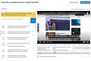 poner videos youtube castellano.