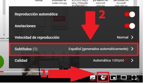 traducir subtitulos youtube app