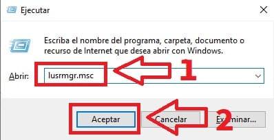 impedir cambio de contraseña windows 10