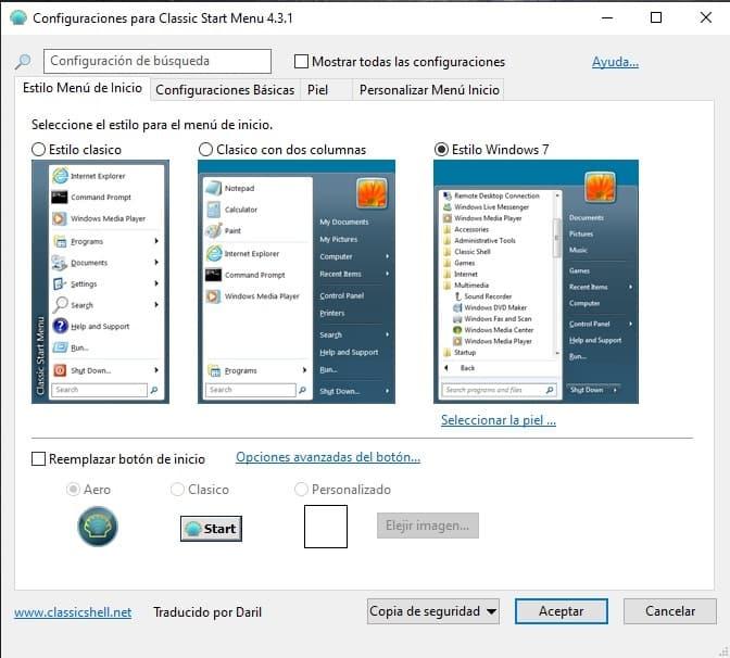 descargar menu clasico para windows 8.1