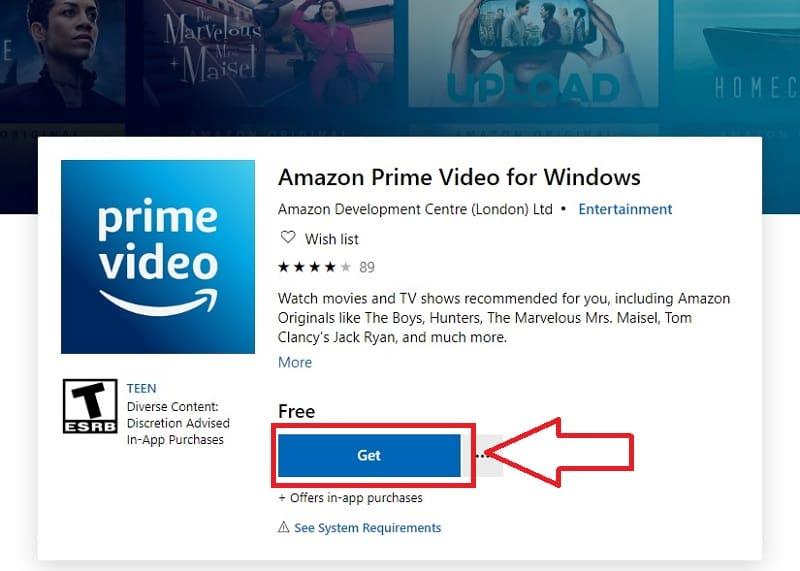 descargar amazon prime video windows 10 gratis