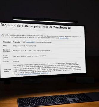 saber si mi pc es compatible con windows 10