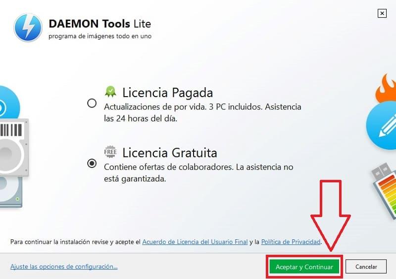 daemon tools cuanto pesa
