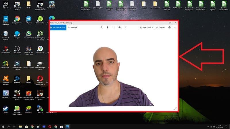 como eliminar el fondo de una imagen con gimp