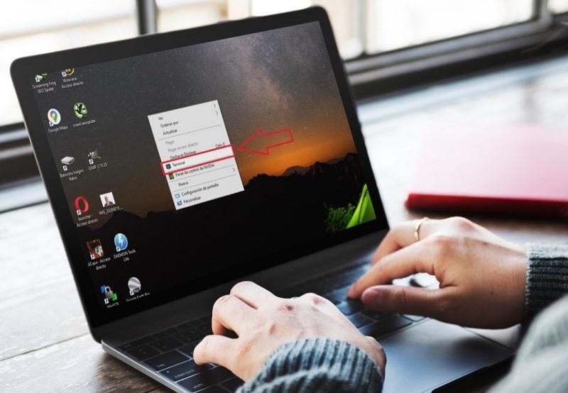 quitar opciones del menu contextual del boton derecho en windows