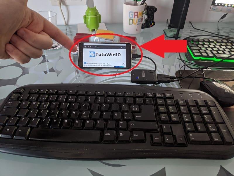 convertir android en pc de escritorio