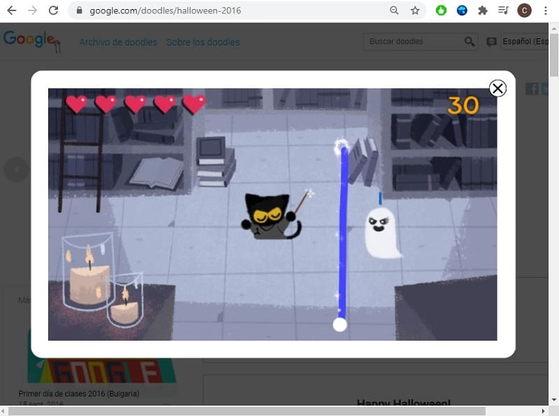 magic cat academy doodle.