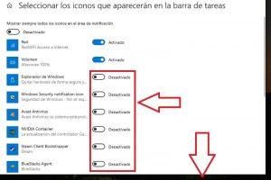 ocultar barra de tareas windows 10