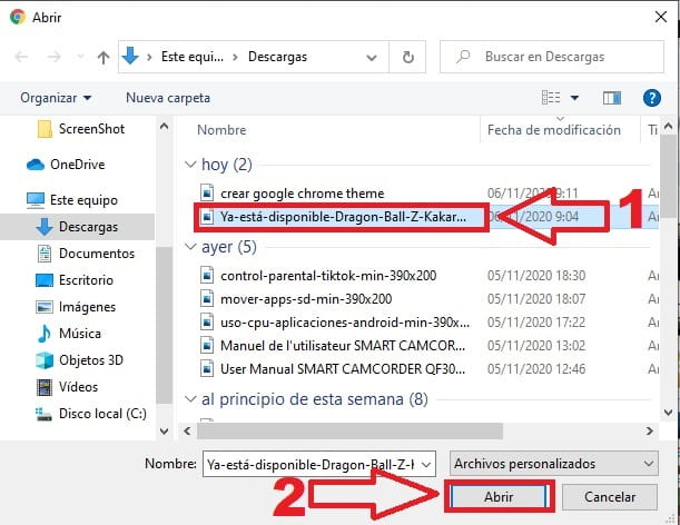 crear tema google chrome