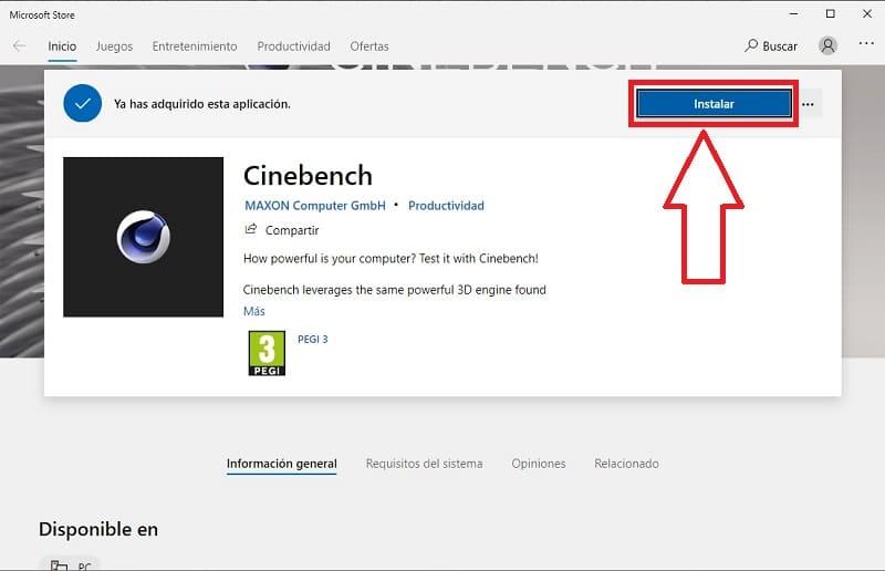 cinebench como usar.