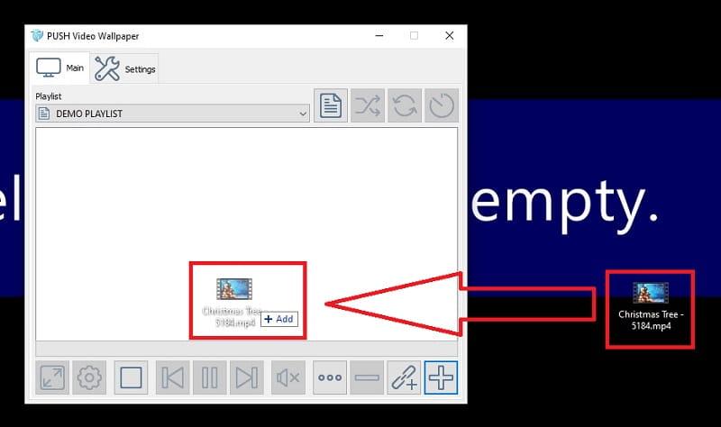 fondo de pantalla de arbol de navidad 3d animado windows 10.