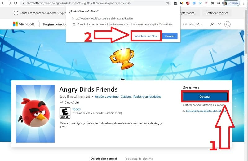 instalar angry birds friends en pc.