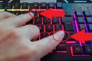 poner signo de igual en teclado.